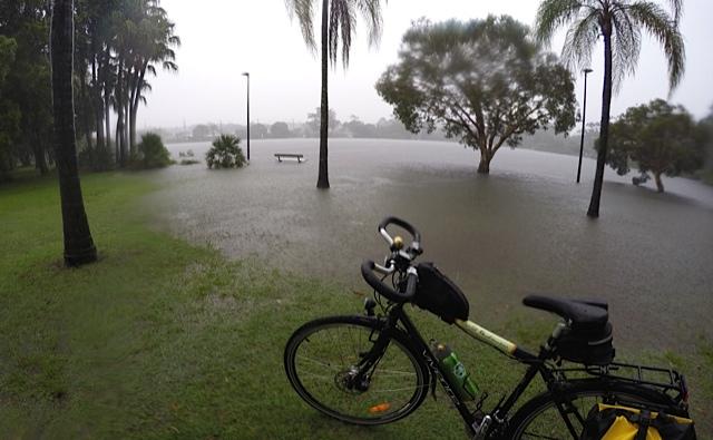 Waterways overflowing