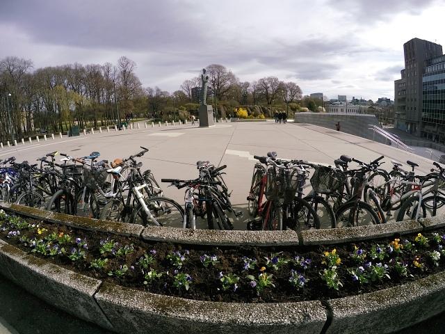 Springtime cycles.