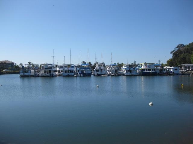 Tweed river fishing boats.