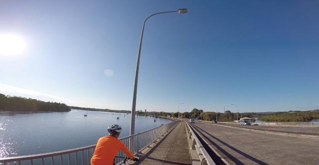 Crossing Terranora Creek