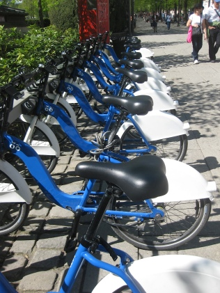 Plenty of bikes here.
