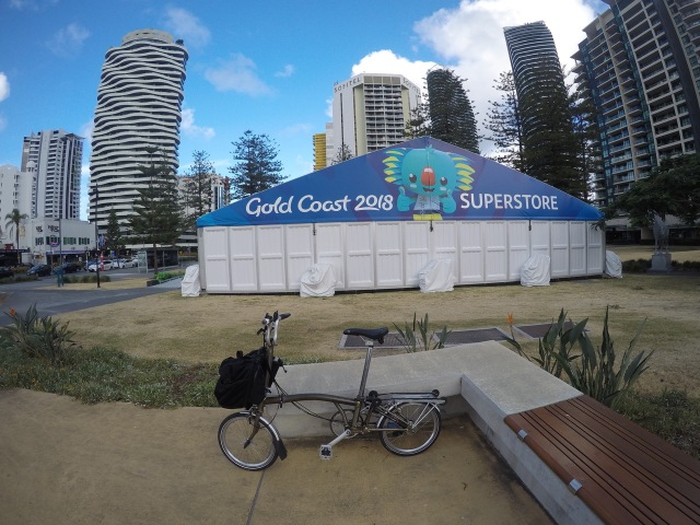 Gold Coast 2018 Commonwealth Games Superstore at Broadbeach