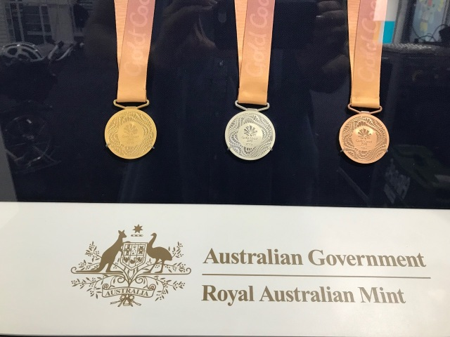 2018 Commonwealth Games Medals