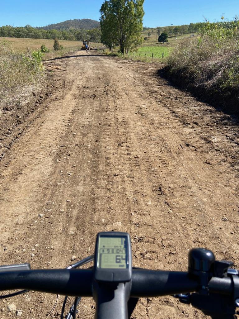 Track Works Coal Creek BVRT May 2021